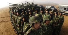 Report: China Moves 12,000 Troops to Russian Border