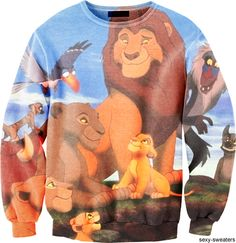 lion king sweater can i say YESSS