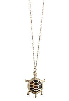 Tortoise Turtle Necklace