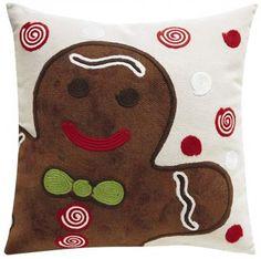 cute Gingerbread Pillow