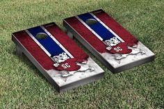 South Carolina State Bulldogs Vintage Stripe Cornhole Tailgating Game