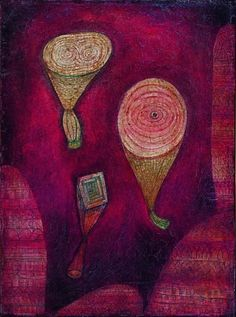 Paul Klee – Omega 5. Imitation of objects, 1927