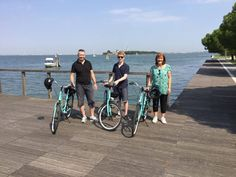 A great Venice Lido bike tour with our English friends. Thanks to Peter, Kathryn and Jim.