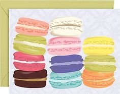 Macarons A2 Stationery