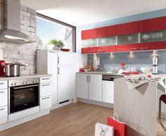 Moderní designová kuchyně Milena. Kuchyně a spotřebiče jedné značky - gorenje. #kuchyně #design #interiér #domov #gorenje Diy Kitchen Storage, Kitchen Cabinets, Loft, Bed, Table, Furniture, Home Decor, Lofts, Stream Bed