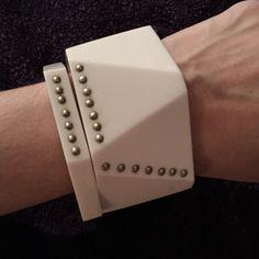 Art On Your Arm!! Beautiful Bracelet Set 2 piece bracelet set. One Chunky bracelet and a matching bangle. ALDO Jewelry Bracelets