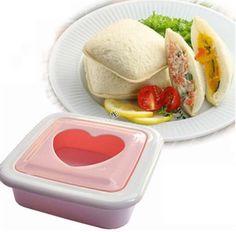 Forma de Sanduiche Coração