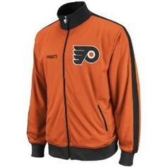 NHL Philadelphia Flyers Lord Stanley Track Jacket, X-Large by Reebok. $65.34