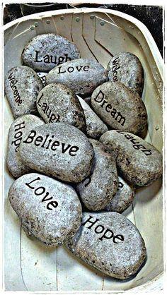 Love, Believe, Hope, Laugh, Dream