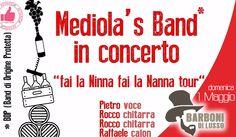 Mediola's Band In Concerto Da Barboni Di Lusso - 1 Maggio http://affariok.blogspot.it/2016/04/mediolas-band-in-concerto-da-barboni-di_28.html