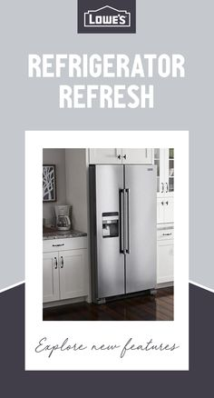 It's time to replace your refrigerator with one that truly meets the needs of your family. Explore the latest features from top brands at Lowe's. Best Appliances, Small Appliances, Kitchen Appliances, Home Renovation, Home Remodeling, Garden Design Ideas Uk, Appliance Sale, Kitchen On A Budget, Home Decor Inspiration