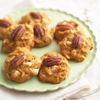 BEST Pumpkin Cookies ever. I make these every fall and it's an autumn party in your mouth!