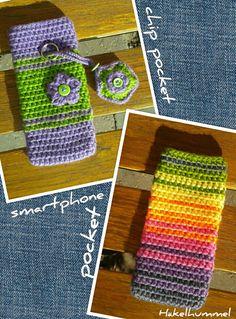 Smartphone- & Chip-Tasche