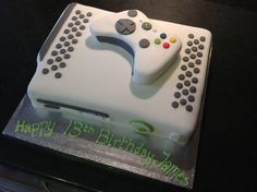 Xbox Cake...for Connor
