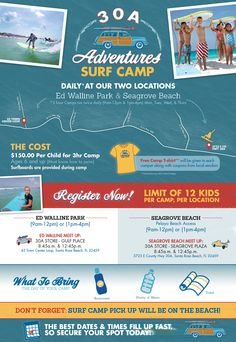 30A Adventures - 30A Surf Camp - Learn to Surf Today