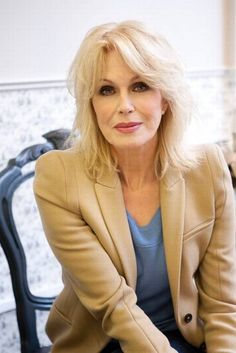 Joanna Lumley - a true lady