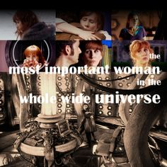 Donna Noble, I love her. Tumblr Big, Donna Noble, Big Three, Himym, Chevy Impala, Torchwood, Geronimo, Bad Wolf, Geek Out