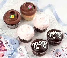 Send a Yummy Mother's Day Gift Treat:  Mother's Day Cupcake Box at Magnolia Bakery