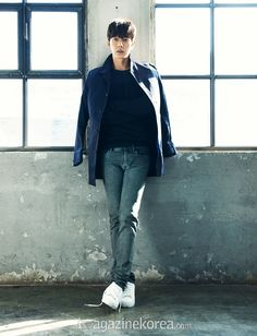 Park Hae Jin - Esquire Magazine February Issue '15