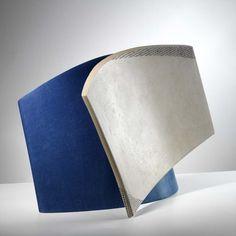 Frances Priest - Balanced Blue Ceramic, Oxide Inlay, Slip 40x27x25cms 2005 2005 Photography: Shannon Tofts