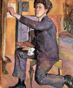 Alberto Giacometti · Self Portrait · 1921 · Kunsthaus · Zurich