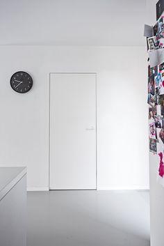 Portes invisibles laquées ou prêtes à peindre