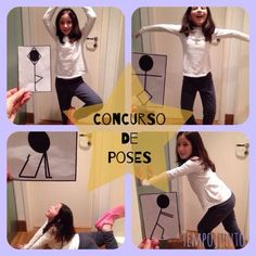 Poses Carol Source by Fun Indoor Activities, Motor Activities, Kindergarten Activities, Toddler Activities, Yoga For Kids, Diy For Kids, Chico Yoga, Preschool Transitions, Kids Class