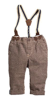 Zara Baby Size 3-6 Month Light Grey Trousers With Braces Detail