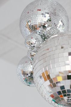 Our Disco Ball Chandelier Via Tahitian Vanilla Shiny Dance