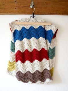 Zigzag Infinity Circle Scarf Crochet Pattern PDF by LittleDoolally