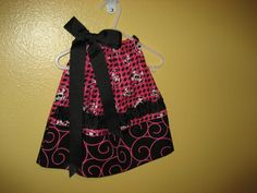 Infant girl pillowcase dress by PetuniaMaeDesigns on Etsy, $30.00