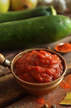 Ketchup, Preserves, Vegetarian Recipes, Salads, Spaghetti, Beans, Food And Drink, Soup, Canning