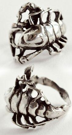 Pamela Love Silver Scorpion
