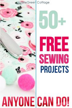 More than 50 free beginner sewing projects with free sewing patterns that are quick and easy to sew even if you are a sewing beginner. From easy pouch patterns, face wipes, cosmetic pads, coasters, hair bows and scrunchies, through free pencil case patterns, eye glass pouches, diy card wallet, a crayon roll, things to sew for home, curtains, easy pillowcase tutorial, mop pads, easy placemats, all the way to easy toy sewing projects and more. #freepatterns #beginnersewing #easypatterns…