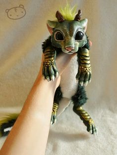 Maker of Mythical Creatures & Pet Dolls. Lisa Toms, has a real talent in making them look incredibly real. More information and more images from this Artist, Press the Image.
