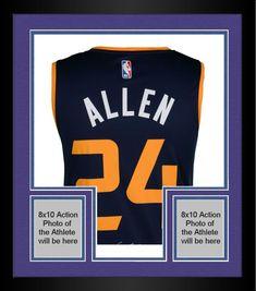 9521b7a48 Framed Grayson Allen Utah Jazz Autographed Fanatics Blue Fastbreak Jersey
