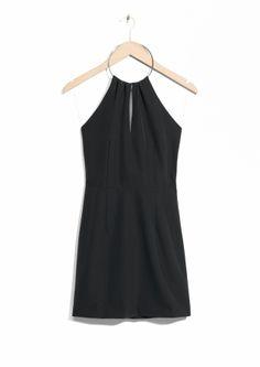 Bangle Neck Dress - Black - & Other Stories