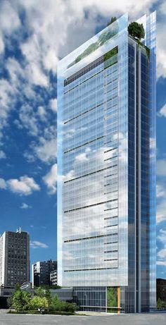 Proposta recladding Torre Galfa-Schivo Associati