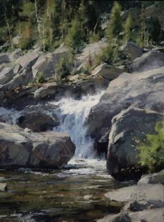 Shadow Creek by Matt Smith  ~ 14 x 11