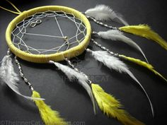 Infinity Dream Catcher (Hand Made) by TheInnerCat.deviantart.com on @DeviantArt