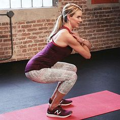 Body-weight squat  - Abdominal exercises to burn fat, flatten your belly, and strengthen your core.