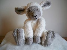 Little Eric Sheep Toy knitting project shared on the LoveKnitting Community