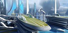 Star Citizen Terra Prime Port, Josh Kao on ArtStation at https://www.artstation.com/artwork/YBQ2w