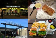 earl of sandwich shake shack restaurante orlando hamburguer sanduíche - Post sobre onde comer em Orlando