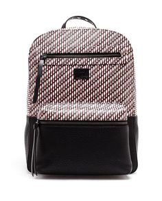 CHRISTIAN LOUBOUTIN | Logo Print Leather Backpack
