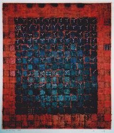 D-30.Jan.1998mixed media painting on paperHAYASHI Takahiko 林孝彦