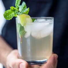 "Rum Coconut Water | Coconut water's delicate sweetness comes to the fore in this simple drink. Chef Louis Tikaram, of LA's E.P. & L.P. restaurant, likes to use vanilla­scented Fijian rum— ""It's the flavor I grew up with,"" he says—but suggests you use just a little, because the liquor can mask the coconut flavor."