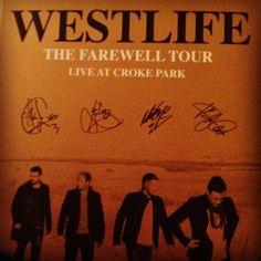 Farewell Westlife