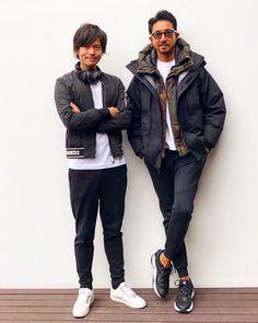 Stylish Men, Men Casual, Gq Mens Style, Older Mens Fashion, Mens Sweatpants, Urban Outfits, Winter Fashion, Menswear, Instagram