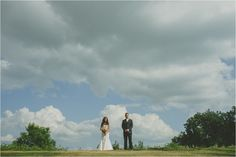 Charming outdoor wedding ceremony at Bridges